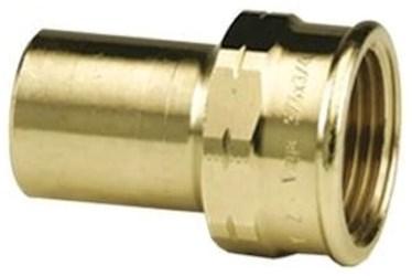 79430 Lf 1/2 X 1/2 Bronze Adapter Ftg X F Npt Propress CAT539P,79430,78007,691514794303