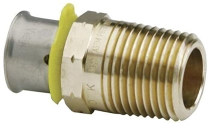 90581 Lf Bronze Pex Press Adapter, Press X M Npt, 1-1/2 X 1-1/2 CAT470V,90581,90581,691514905815