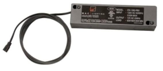 En-2460-rb2-t Wac Lighting 120v/24v 60w Etb Tape Light Transformer CATWAC,790576163932,WAEN2460RB2T