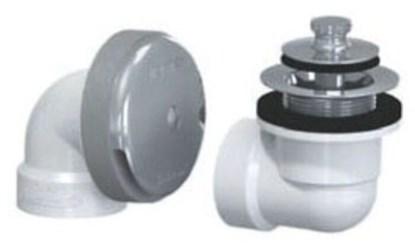 601-lt-pvc-bn Lift And Turn Half Kit Sch 40 Pvc Brushed Nickel CAT170W,WC452,601-LT-PVC-BN,601-LT-PVC-BN,640263009763,601LTPVCBN,WTDBN,