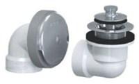601-lt-pvc-cp Lift And Turn Half Kit Sch 40 Pvc Chrome Plated CAT170W,WC452,601-LT-PVC-CP,640263002696,601LTPVCCP,WTDCP