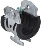 W-2000 3/4 In Ips, 1 In Cts, 1-1/8 In Acr Steel Pipe Clamps CAT755R,WCC118,GSCC118,C118,2500,A716,PS1400,TCC,TCC1,TCC11/8,UC,UC118,TCC0112CP,CUSH OD-11/8,PS-018T-EG,8712993119356