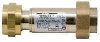 7r10-u2 1 X 3/4 Lf Cast Copper Silicon Alloy Double Check Backflow Preventer CAT210,098268533613,WAT710USGF,710U2GF,710U2,20098268003301,DCGF,MFGR VENDOR: WATTS,PRCH VENDOR: BWC,DCVGF,WAT0061726,MFGR VENDOR: WATTS,WATTS,HOMLF7R10U2,WATLF7R10U2,