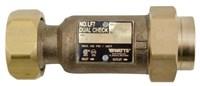 Lf 7c 3/8 Lf Cast Copper Silicon Alloy Double Check Backflow Preventer CAT210,0792077,098268434644,0061856,7-C,LF7-C,0061856,LF7C,7C,098268434644,Lead Free,WAT00792077