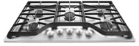 Maytag 36 Stainless Steel Cooktop Ada Sealed Natural Gas CAT302M,MGC7536DS,883049324791