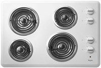 Whirlpool 30 White Cooktop Coil Electric CAT302W,883049260310