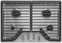 Whirlpool 30 Stainless Steel Cooktop Ada Sealed Natural Gas CATO302W,WCG51US0DS,883049324043