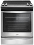 Whirlpool 30 Electric Range Black On Stainless Ada CAT302W,WEE745H0FS,883049397634