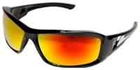 Xbap-119 Edge Safety Eyewear Gloss Black/red Safety Glasses CATWOL,EDGE,XBAP-119,XBAP119,