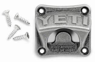 Ybow Yeti Silver Bottle Opener CAT520,YBOW,014394502026,MFGR VENDOR: YETI,PRCH VENDOR: 1