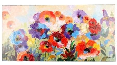 Artab2292 Yosemite Flower Garden Painting CATYOS,ARTAB2292,