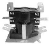 24zc-6 Global 25/12.5 Amps 2 Dpst Multi-position 120/240/480 Volts Heat Sequencer CATGLO,24ZC-6,24ZC6,HS6,