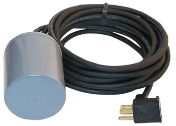 10-0055 Zoeller 115 Volts No 10 Cord Float Switch CAT400Z,10,100055,053514012076,FZ,ZFS