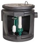 912-0067 Zoeller 4/10 To 1/2 Hp 115 Volts Cast Iron Ejector System W/ Foam Basin CAT400Z,9120067,999000079865,053514106966,ZSPS,SPS,PIT