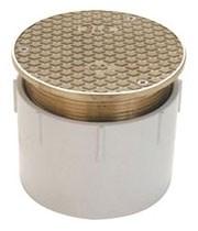 Co2450-pv4 Co2450 4 Pvc Adjustable Floor Cleanout CAT424Z,670240402812,MFGR VENDOR: ZURN,PRCH VENDOR: ZURN,ZCON,CO2450PV4,MFGR VENDOR: 322010