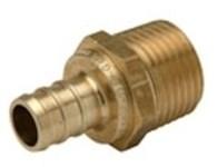Qqmc44gx (p4527575) 3/4 Barb X 3/4 Mpt Pex Brass Male Adapters ( T1050 ) CAT470PEX,QMAF,XQMAF,44066,T1050,81001145,P4527575,0650530,PX01765,NP25B,PX81220LX,PX81220,47080244,QQMC44X,0653038,WP12B1212,LFWP12B1212,QMA34,ZMAF,10084169016475,84269026478