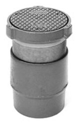 """Z14004nl Zurn 4""""nl Ci Cleanout, Rd Scoriated Cast Iron Adj Top CAT424Z,670240067455,Z1400ANL,Z1400N,Z14004,Z1400,42400945,MFGR VENDOR: ZURN,PRCH VENDOR: ZURN"""