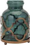 20268 Marla Oversized Quadre Foil Vase