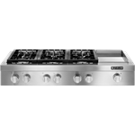 Jgcp548wp D-w-o Jenn-air Monochromatic Stainless W/ Pro Handles Pro-style Cooktop 48, Pro-style, 1320w Griddle, 3-20k, 2-15k, 5k-500 CATO302J,883049180304