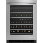 Juw24frers D-w-o Jenn-air Stainless Steel 24in Wine Cellar Dual Temp Zone 6 Extendable Racks Auto Defrost Right Hinge Stainless Euro CATO302J,JUW24FRERS,883049350431