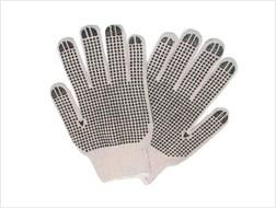L506r Cotton Blk Dot Gloves CAT250GL,L506R,L506RL,506RL,L506,506R,506RL,