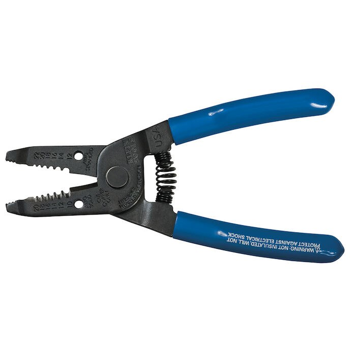 Klein Tools Inc Klein Tools 6 1 8 In Blue Wire Cutter