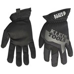40207 Klein Tools Journeyman Black/gray Leather Glove Xl CAT526,40207,092644402074