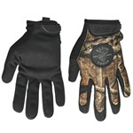 40209 Klein Tools Journeyman Camouflage/black Leather Glove L CAT526,40209,092644402098
