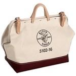 5102-16 Klein Tools Canvas 1 Compartment Tool Bag CAT526,5102-16,092644553028