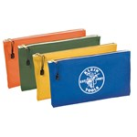 5140 Klein Tools Canvas 4 Pack Zipper Pouch CAT526,5140,92644553677,092644553677