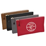 5141 Klein Tools Canvas 4 Pack Zipper Pouch CAT526,5141,092644200113