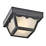 11027tz D-w-o Kichler Tannery Bronze Steel Outdoor Ceiling 2lt Fl CATO731K,11027TZ,783927405362