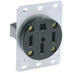 279-s00 Leviton 50a Receptacle CAT752,7847769530,279,L279,11949,75217540