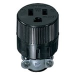 617 Leviton Straight Blade 125 Volts Black Vinyl Electrical Receptacle CAT752,L617,10782,07847710782