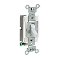 Cs120-2w Leviton White 20 Amps 120/277 Volts Single Pole Switch CAT752,CS1202W,07847781574
