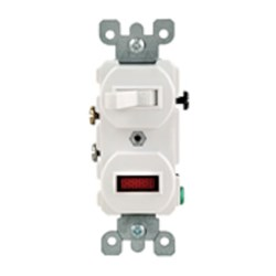 5226-i Leviton Ivory 15 Amps 120 Volts 2 Single Pole Switch CAT752,L5226I,22690,07847722690