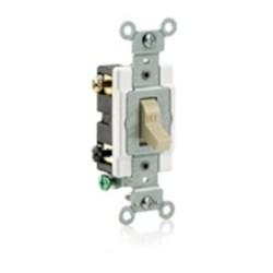 Cs215-2i Leviton Ivory 15 Amps 120/277 Volts Double Pole Switch CAT752,CS2152I,07847781557