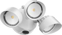 Olf3rh40k120pewhm4 120v 40k 3 Head White Pe Led Security Light