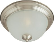 5831ftsn Essentials 2-light Flush Mount Satin Nickel CATMXM,783209583153