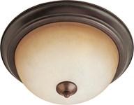 5841wsoi Essentials 2-light Flush Mount Oil Rubbed Bronze