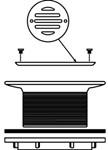 1233 Flat Grid Urinal Strainer Cp 2 Lead Caulk/iron/soil Pipe CAT170M,1233,1233,1233,75806200122