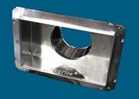 10-8-6 M And M 602r8 Ductite Register Box W/r8 Duct Wrap CAT342M,602R81086,602,10X8X6,845927024704