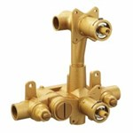 3330 Moen Moentrol Pressure-balancing Volume-control 3-function Transfer Shower Valve With Stops 1/2 In Cc Connection CAT161,3330,3330,3330,3330,3330,026508081754,3330,16105366,