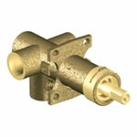3372 Moen Brass Rough-in 3-function Transfer Shower Valve 1/2 In Cc Connection CAT161,3372,026508201930,
