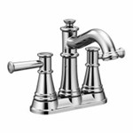 6401 Moen Belfield 4 In Centerset 2-handle Bathroom Faucet In Chrome CAT161,6401,026508275337,