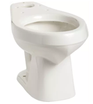 013810000 Mansfield Alto White 1.6 Gpf 10 In Rough-in Elongated Front Toilet Bowl