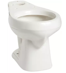 130010007 Mansfield Alto White 1.6 Gpf 12 In Rough-in Round Front Toilet Bowl CATMAN,130010007,046587005601,130WH,130,MANSFIELD,MRBWH