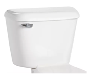 160010007 Mansfield Alto 12 In Rough-in 1.6 Gpf Left Hand Trip Lever White Toilet Tank Only