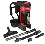 0885-20 M18 Fuel 3 In 1 Backpack Vacuum