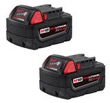 M18 Redlithium 18 Volts Xc5.0 Extended Capacity Battery 48-11-1852 Milwaukee CAT532,48-11-1852,045242350506